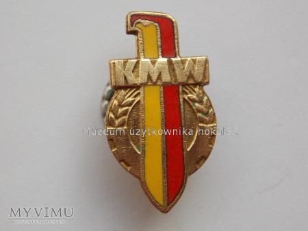 KOŁO MŁODZIERZY WOJSKOWEJ-1958 złota-odmiana
