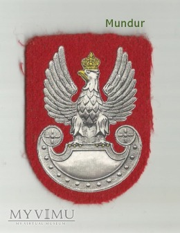Orzełek wz.93 Żandarmerii Wojskowej (termodruk)