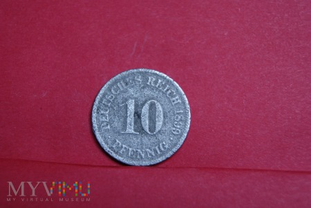 10 Pfennig 1899
