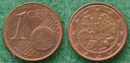 1 EURO CENT 2008 A