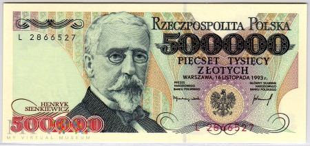 MC 193a - 500000 Złotych - 1993
