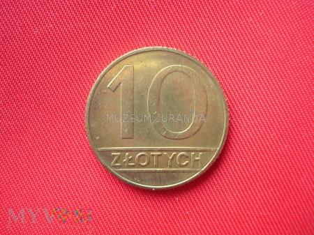 10 złotych 1989 rok