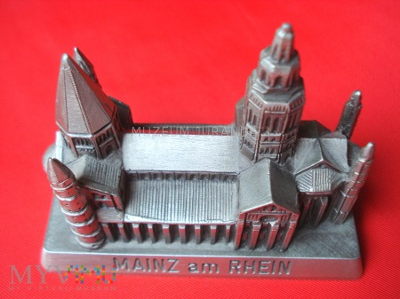 Duże zdjęcie Miniatura Katedry z Mainz / Niemcy