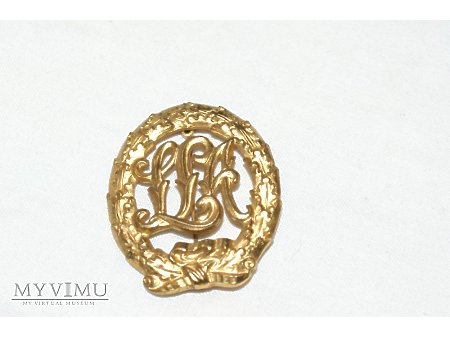 Duże zdjęcie Złota odznaka DRA