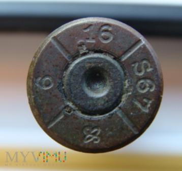 Łuska 7,92 x 57 mm Mauser 16 S67 OS (logo) 6