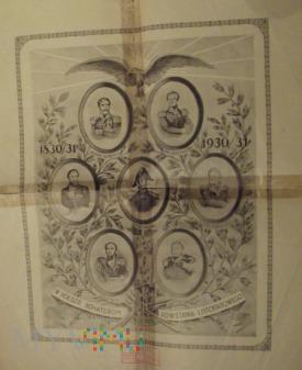 Duże zdjęcie Plakat 100 rocznica Powstania Listopadowego.