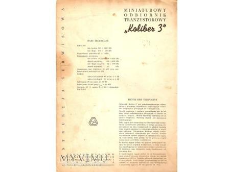 Instrukcja radia KOLIBER 3