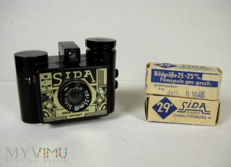 Sida Optyka camera Polski aparat foto.