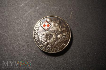 Duże zdjęcie Odznaka Gronik - Zakopane : Nr. 017