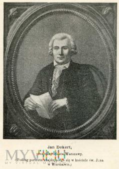 Dekert Jan - prezydent Warszawy