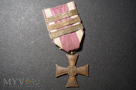 Krzyż Walecznych - Knedler 1921-1946 :5a