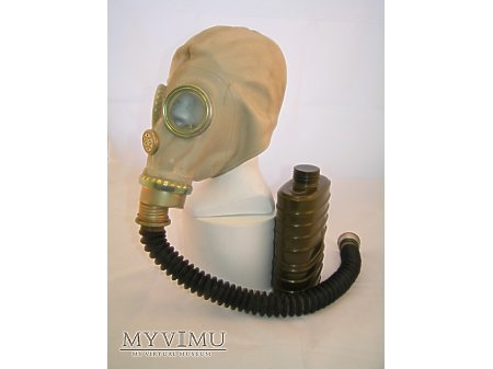 Duże zdjęcie Maska przeciwgazowa MUA (SzM41M)