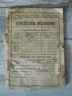 Książeczka Wojskowa 80/84pp/Batalion Manewrowy