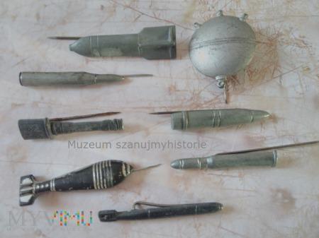 KWHW Geschosse und Munition (pociski i amunicja)