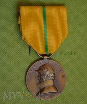 Belgijski Medal Króla Alberta 1909 - 1934