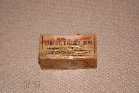 Pudełko po amunicji 30 Carbine