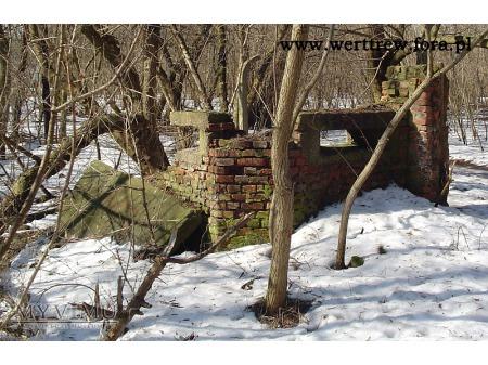 Schron obserwacyjno-wartowniczy koło Fortu Bema