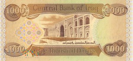 IRAK 1000 DINARÓW 2003