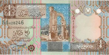 LIBIA 0,25 DINARA 2002