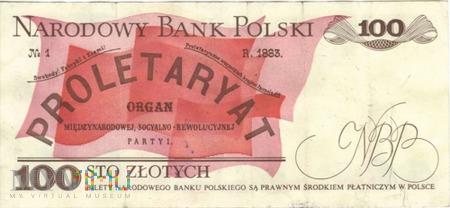 POLSKA PRL 100 ZŁOTYCH 1986