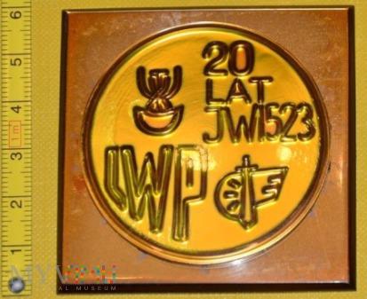 Medal kolejowy - wojskowy JW 1523