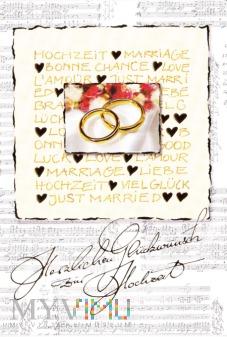 Herzlichen Glückwunsch zum Hochzeit