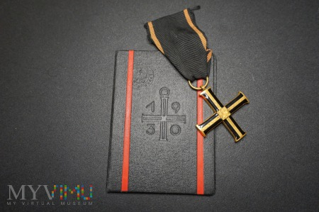 Krzyż Niepodległości z Legitymacją.