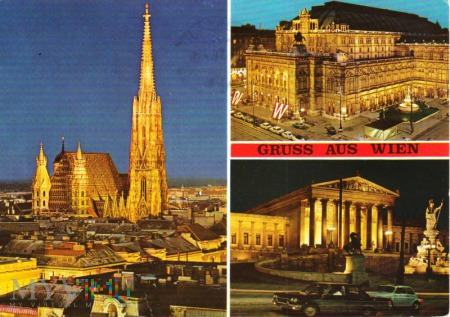 WIEN - Stephansdom, Oper, Parlament