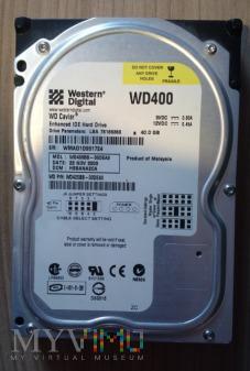 """Duże zdjęcie Dysk 3,5"""" Western Digital 40,0GB"""