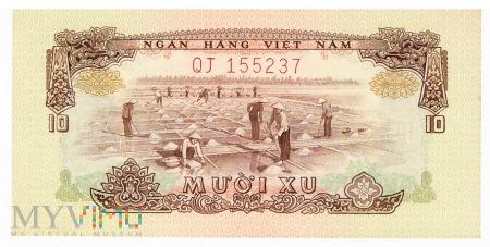 Wietnam Południowy - 10 xu (1975)