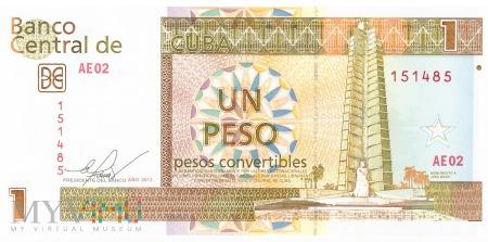 Kuba - 1 peso (2013)