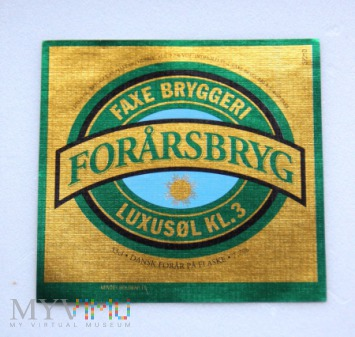 Faxe, Forarsbryg
