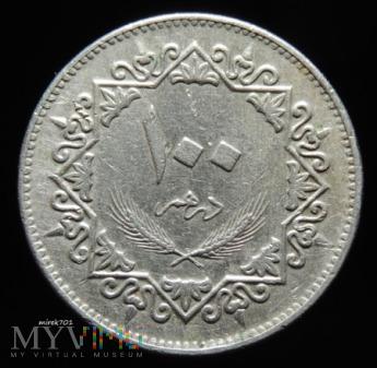Libia 100 dirham 1975