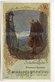 Duże zdjęcie Piosenki Shuberta - Nocna pieśń wędrowca - 1919
