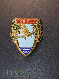 405 Pułk Artylerii Przeciwlotniczej - Francja