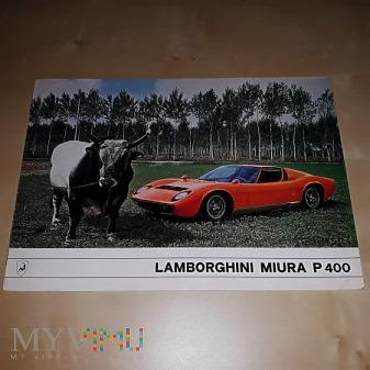 Prospekt Lamborghini Miura P400 1966