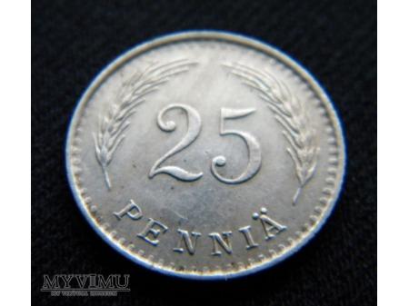 25 Pennia 1937
