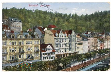 Karlovy Vary - Neue Wiese - 1914