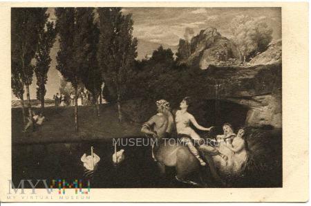 Bocklin - Zaloty Centaurów - I ćw. XX wieku