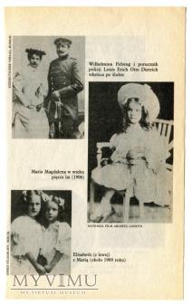 Marlene Dietrich wycinek książkowy Polska zdjęcia