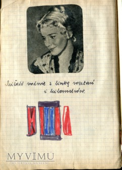 Lucyna Winnicka Kim Novak + scrapbooking