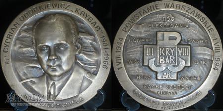 013.KRYBAR - Kapitan Cyprian Odorkiewicz. Patyna
