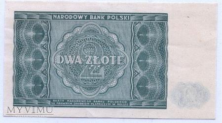 2 złote - 1946.