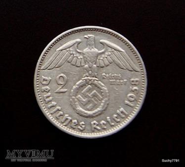 2 marki z 1938 rok (B)
