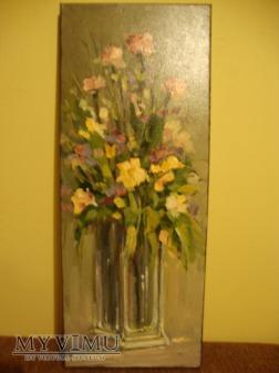 Kwiaty w w wazonie Cezary Garbowicz 2012