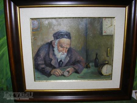 Duże zdjęcie Żyd zegarmistrz