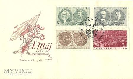 1 Maja Czechosłowacja 1953 r.