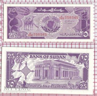 25 piastres - Sudan