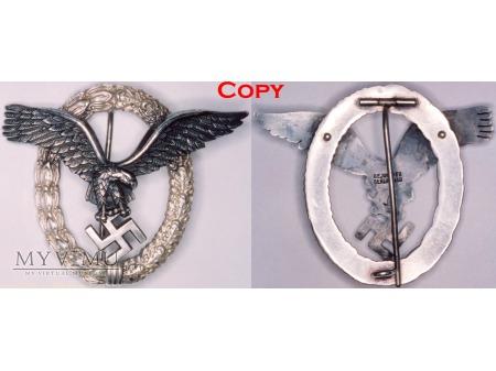 Duże zdjęcie Odznaka Pilota Luftwaffe, Pilot's Badge