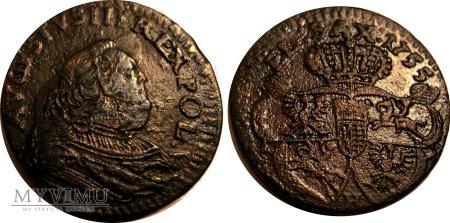 Szeląg 1755 August III SAS